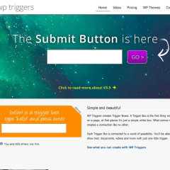 WP Triggers (WordPress Plugin)